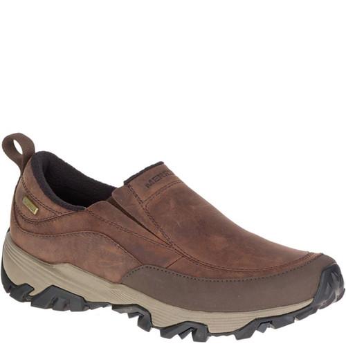 Merrell J45524 COLDPACK ICE+ MOC Waterproof Winter Hike Shoes Brown