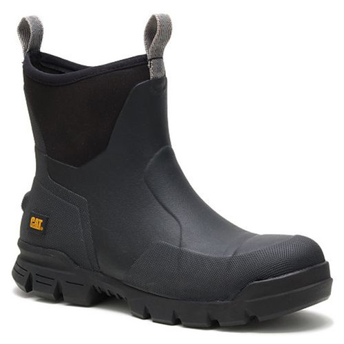 CAT P91141 Men's STORMERS Steel Toe Non-Insulated Rubber Work Boots