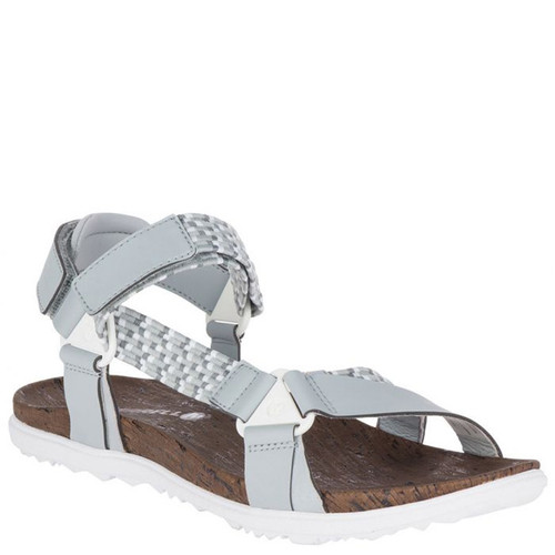 Merrell J94424 AROUND TOWN SUNVUE White Woven Sandals