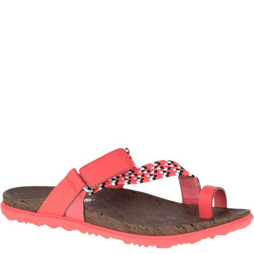 Merrell J94156 AROUND TOWN SUNVUE Hot Coral Thong Sandals