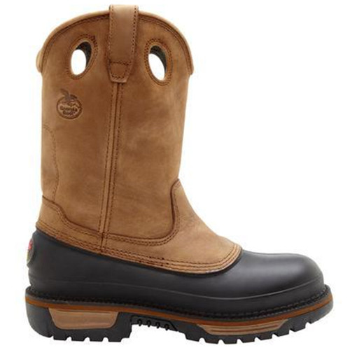 Georgia G5594 MUDDOG Steel Toe Non-Insulated Wellington Work Boots