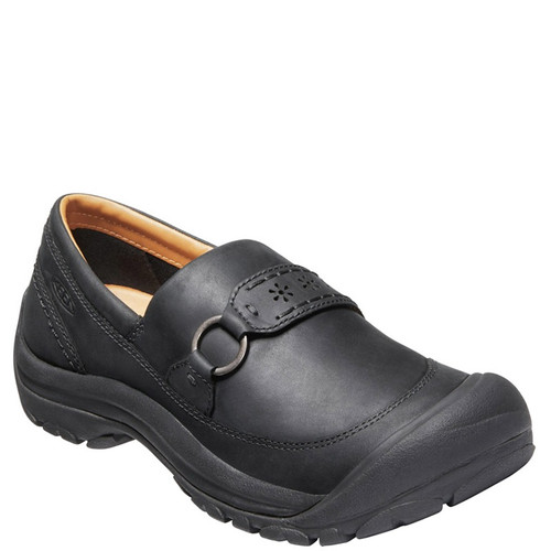 Keen 1020484 KACI II Leather Slip-On Shoes Black