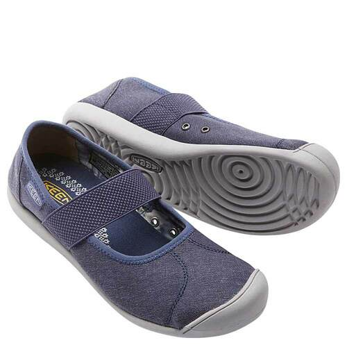 Keen SIENNA MJ Canvas Sneakers Crown Blue