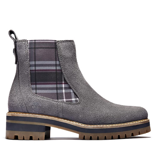 Timberland A2EEH COURMAYEUR VALLEY CHELSEA BOOTS  Dark Grey Suede