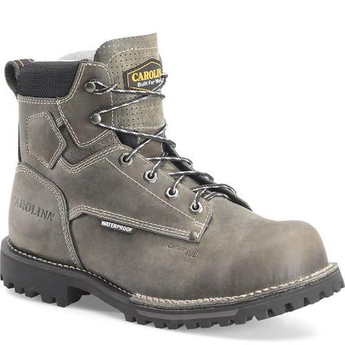 """Carolina CA7532 PITSTOP 6"""" Waterproof Composite Toe Work Boots"""