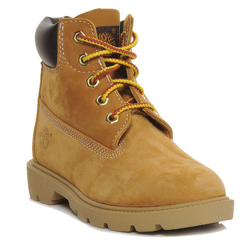 Timberland 10960 BIG KIDS' TIMS BOOTS Classic Gold Boots
