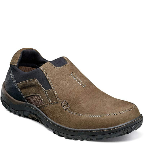Nunn Bush 84827-238 QUEST MOC TOE SLIP-ON Shoes Tan Multi