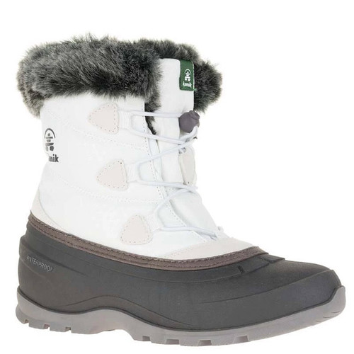 Kamik NK2179 MOMENTUM LO Winter Boots White