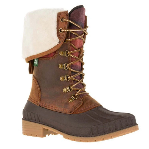 Kamik NK2185 USA SIENNA F 2 Winter Boots Dark Brown