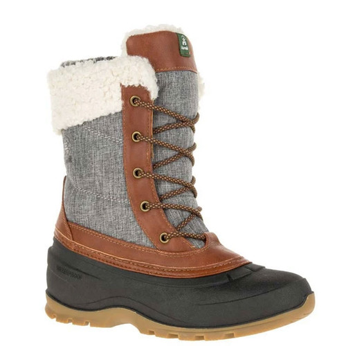 Kamik NK2218 Women's SNOWPEARL Winter Boots Charcoal