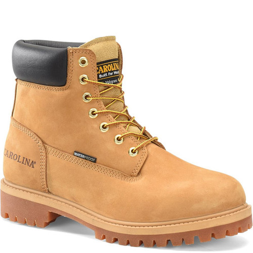 Carolina CA6045 MILLWRIGHT Soft Toe 200g Insulated Wheat Work Boots