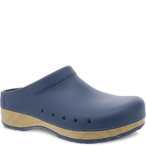 Dansko KANE Blue EVA Clogs