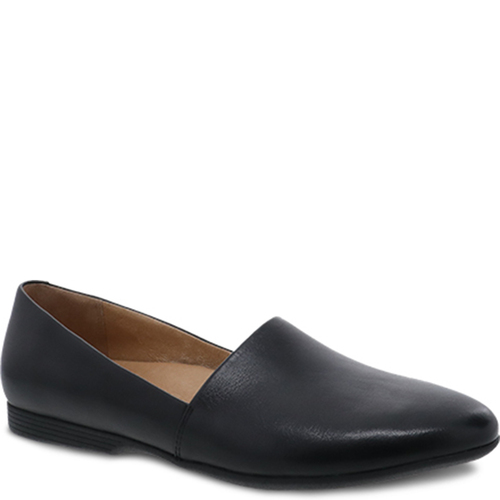 Dansko LARISA Black Milled Loafers