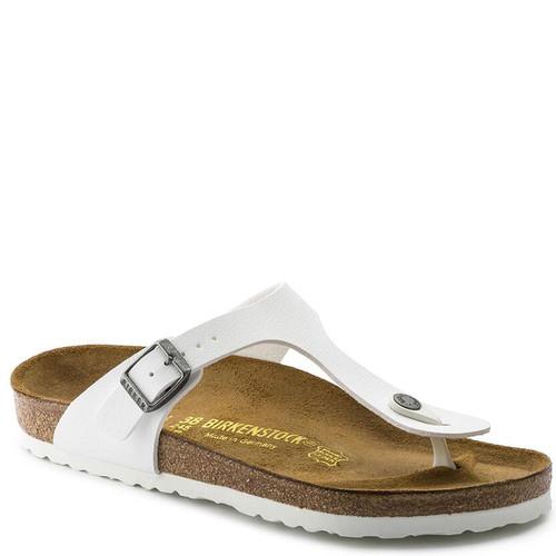 Birkenstock 0745531 GIZEH BIRKO-FLOR White Sandals