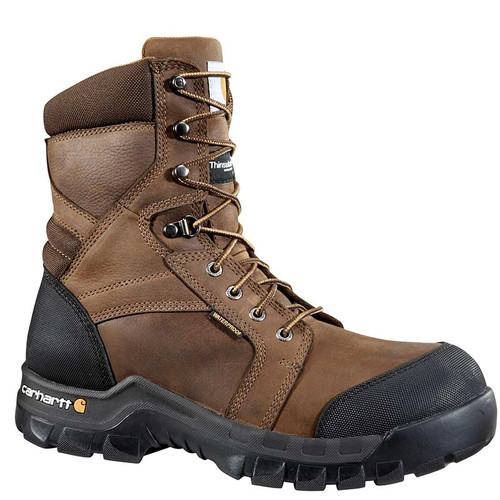 "Carhartt CMF8389 RUGGED FLEX 8"" Composite Toe 400g Insulated Work Boots"