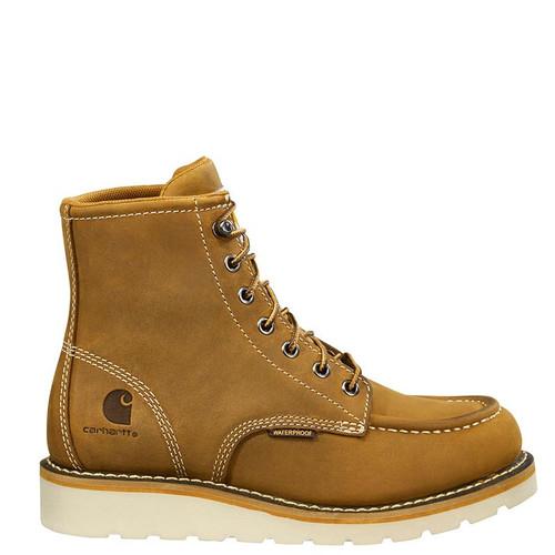 Carhartt FW6025-W Women's Soft Toe Waterproof Wedge Sole Boots