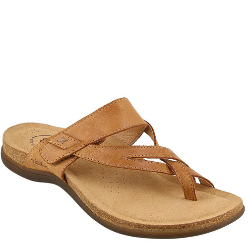 Taos PERFECT Tan Leather Sandals