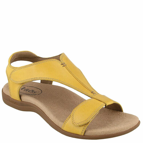 Taos THE SHOW Yellow Sandals