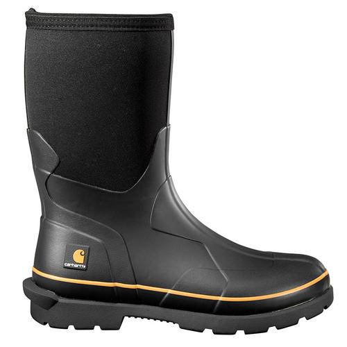 """Carhartt CMV1121 MUDRUNNER 10"""" SOFT TOE Rubber Boots"""