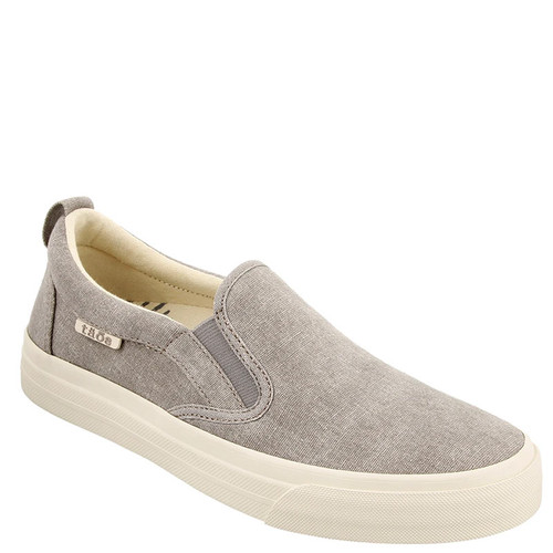 Taos RUBBER SOUL Gray Wash Canvas Sneakers
