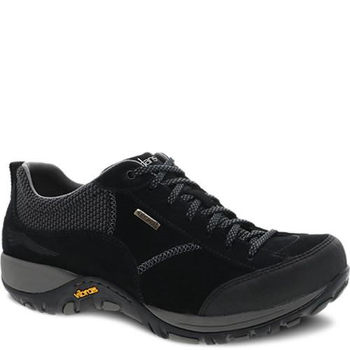 Dansko PAISLEY BLACK/BLACK Suede Sneakers