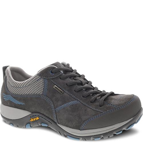 Dansko PAISLEY GREY BLUE Suede Sneakers