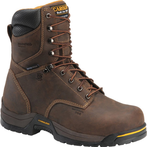 Carolina CA8521 BRUNO HI BROAD TOE Composite Toe 600g Insulated Work Boots