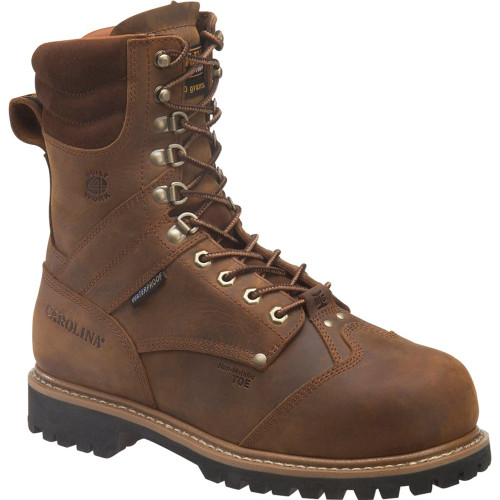 Carolina CA7921 Composite Toe Met Guard Insulated Logger Boots