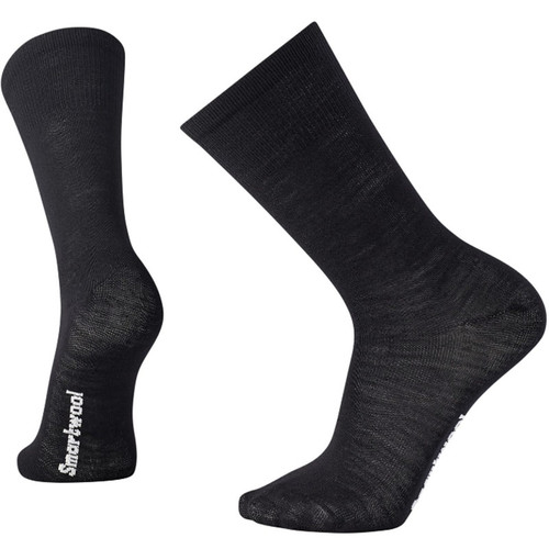 Smartwool USA Hiker Liner Black Crew Socks
