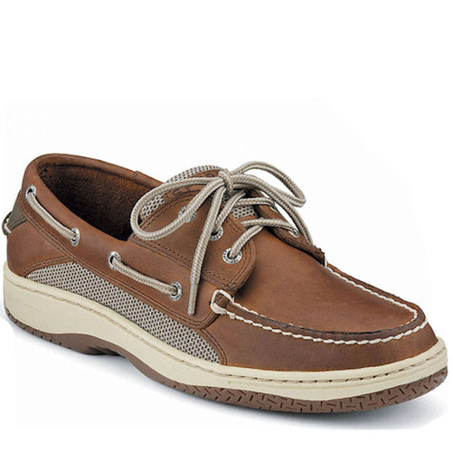 Sperry 0799320 Men's BILLFISH Dark Tan Boat Shoes