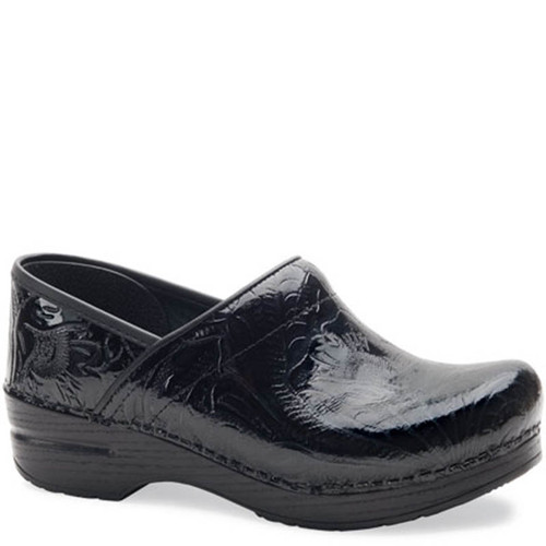 Dansko BLACK TOOLED Professional Clogs