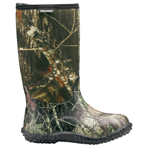 BOGS 61672 KIDS' CLASSIC MOSSY OAK Insulated Camo Boots