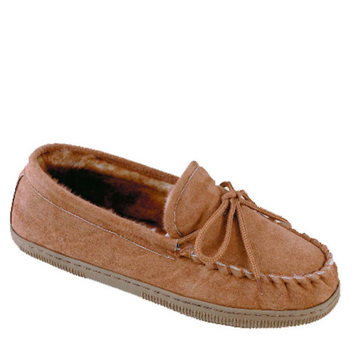 Lamo P102M Men's LINED MOCCASIN Chestnut Slippers