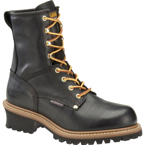 Carolina CA8823 ELM Soft Toe Non-Insulated Black Logging Boots