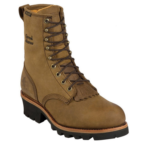 Chippewa 26340 BAY APACHE LEATHER Soft Toe Insulated Logger Boots