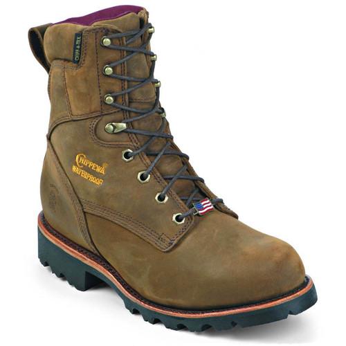 Chippewa 29416 USA RYODAN Soft Toe 400g Insulated Bay Apache Work Boots