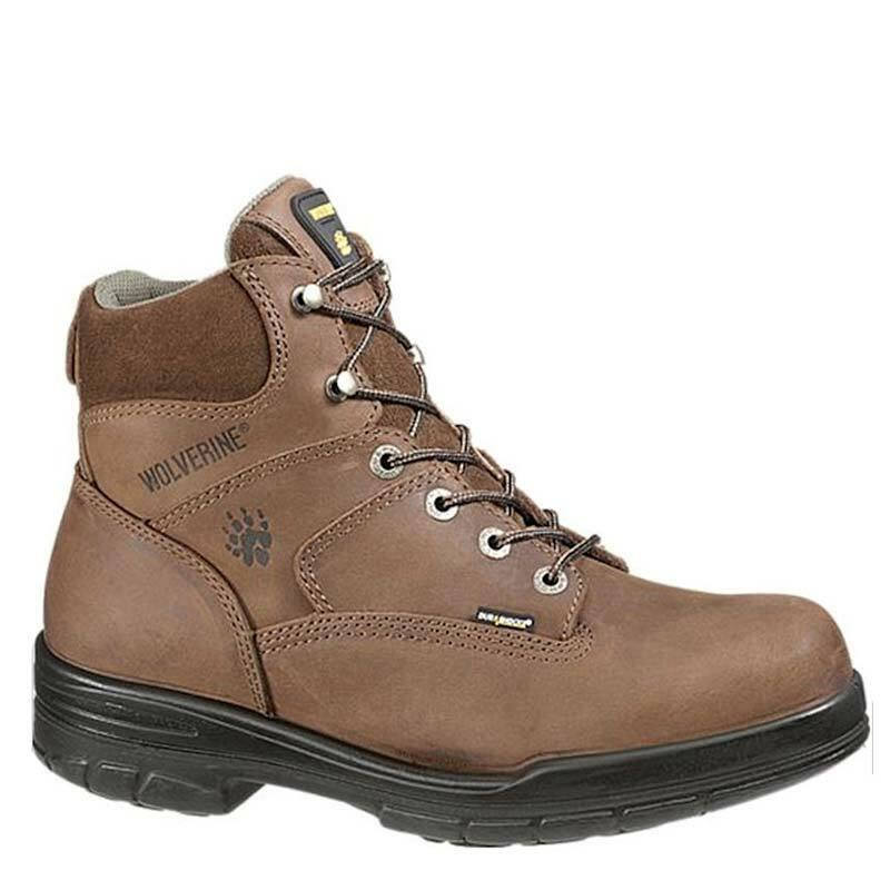 a9866bb4f50 Wolverine W02038 DURASHOCKS SLIP RESISTANT Soft Toe Unlined Work Boots