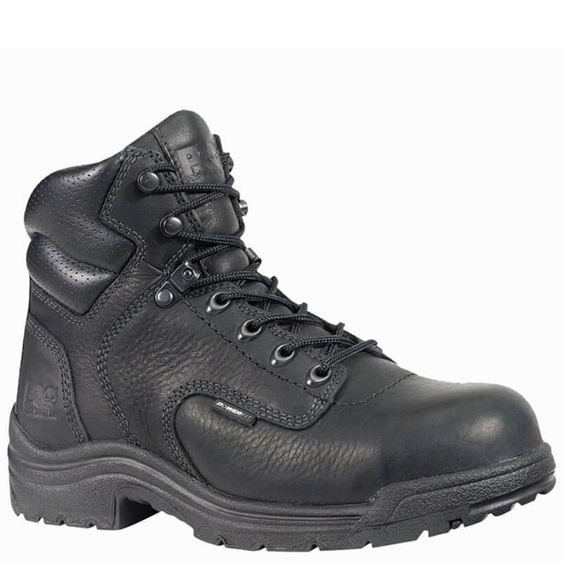 Timberland PRO 72399001 Women s TITAN Black Safety Toe Work Boots ... d78d98bdea