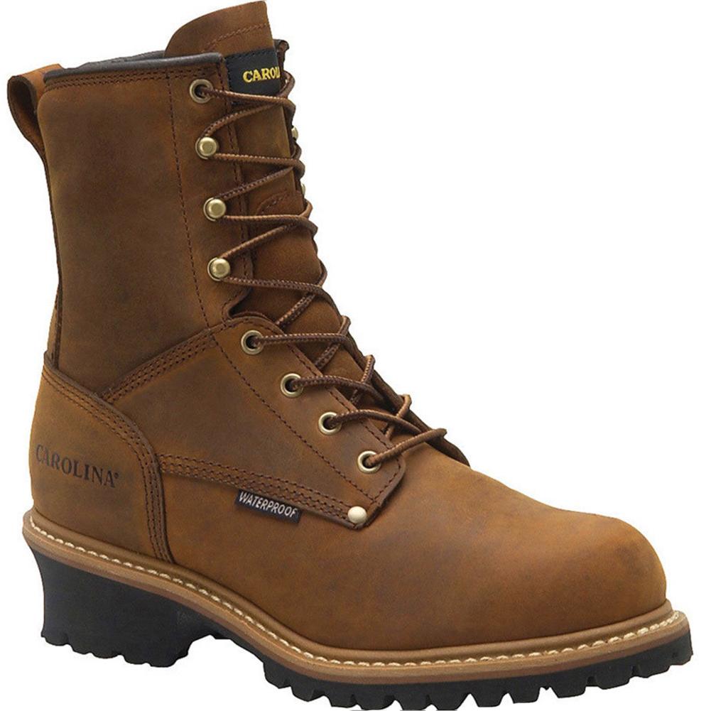 85248d01dcd4 Carolina CA4821 ELM Soft Toe 600g Insulated Waterproof Logger Boots ...
