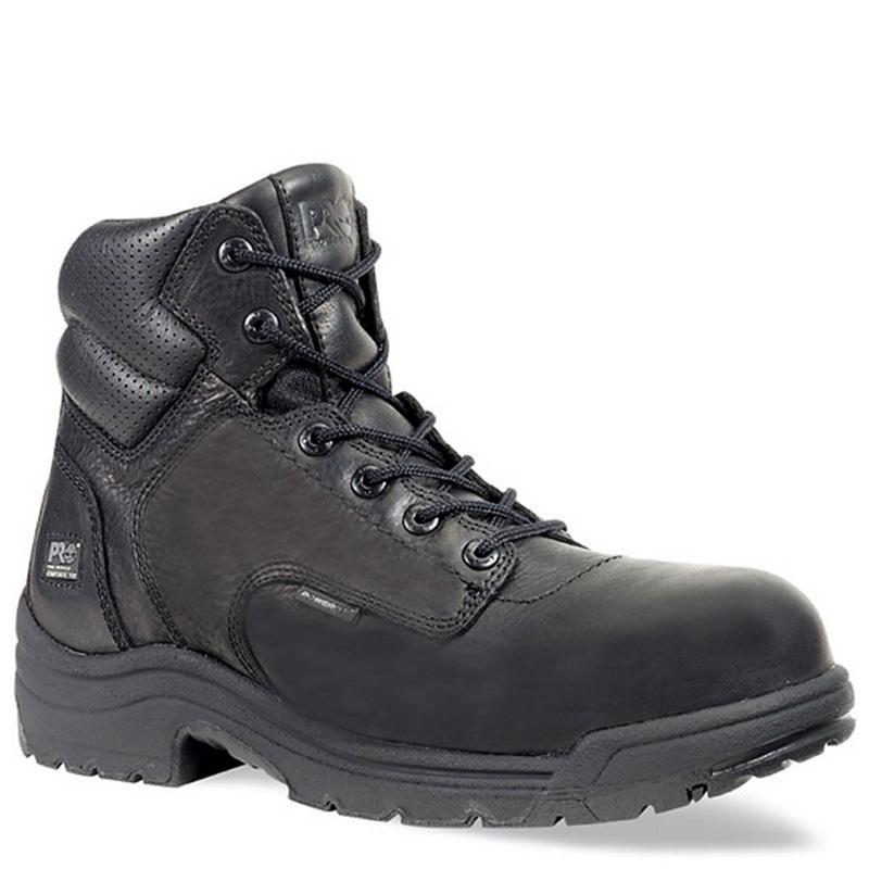 982dd08f6bc Timberland PRO 50507 TITAN Black Composite Toe Non-Insulated Work Boots