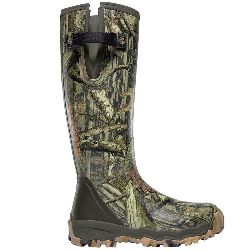 12dc697e741 LaCrosse 376017 ALPHABURLY PRO SIDE-ZIP 1000g RealTree Camo Hunting Boots