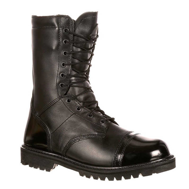 Rocky 2095 PARATROOPER Polishable Soft Toe Insulated Side Zipper Police  Jump Boots 8133321cdec3