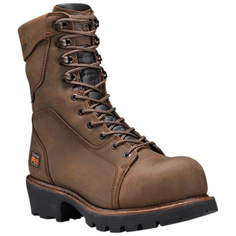 06a42e28912 Timberland PRO 89656214 RIP SAW Composite Toe 400g Insulated Logging Boots