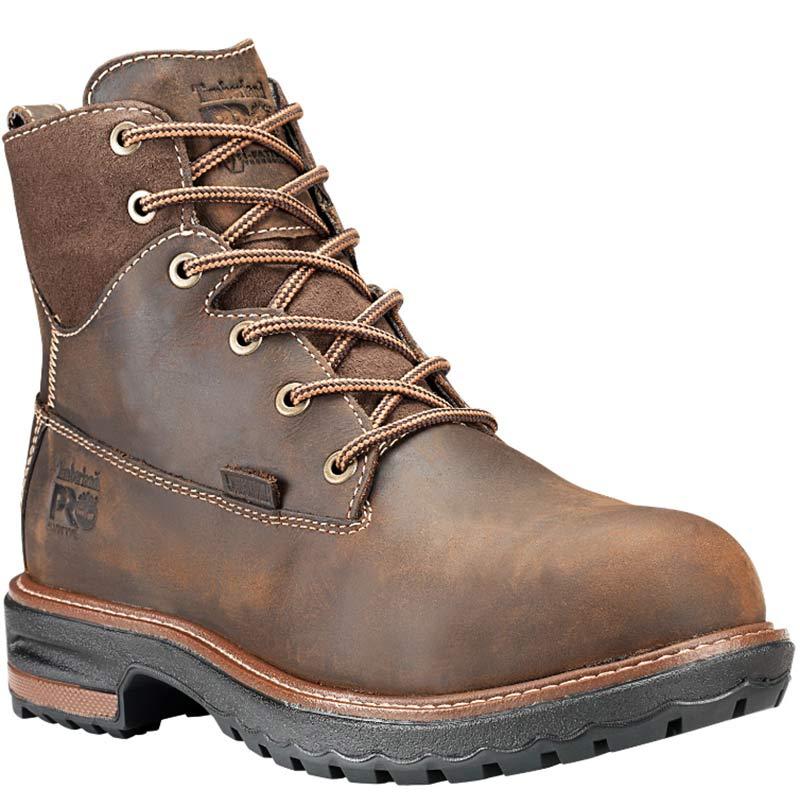 Timberland PRO A1KJR214 Women s HIGHTOWER Brown Waterproof Safety Toe Work  Boots 4d080ac8e