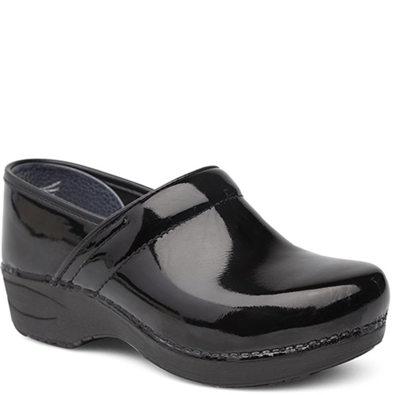41a06b92a3d1 Dansko XP 2.0 BLACK PATENT LEATHER Clogs - Family Footwear Center
