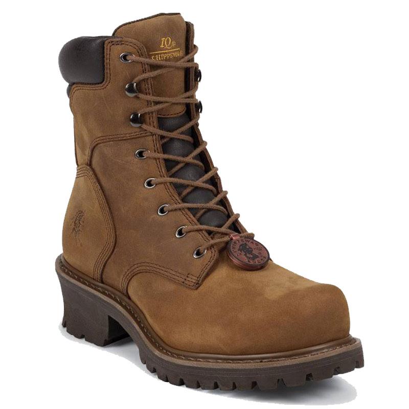 6c75c4a8f8b Chippewa 55026 HADOR HEAVY DUTY Steel Toe Non-Insulated Logger Boots
