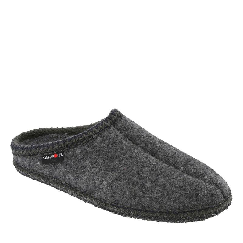 f958e9d6525 Haflinger 611002-4 AS7 Unisex Grey Boiled Wool Slippers - Family ...
