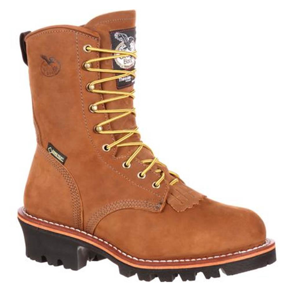 0e203b8bad5 Georgia Gore-Tex G9382 Steel Toe Insulated Logger Boots
