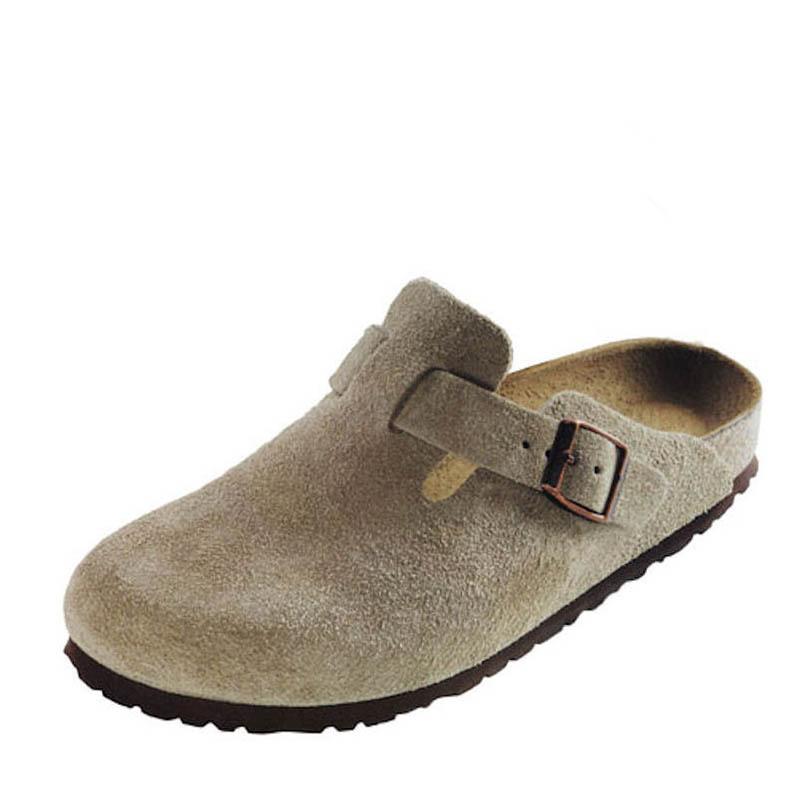 1cca5ee071d Birkenstock Women s Taupe BOSTON Clogs - Family Footwear Center