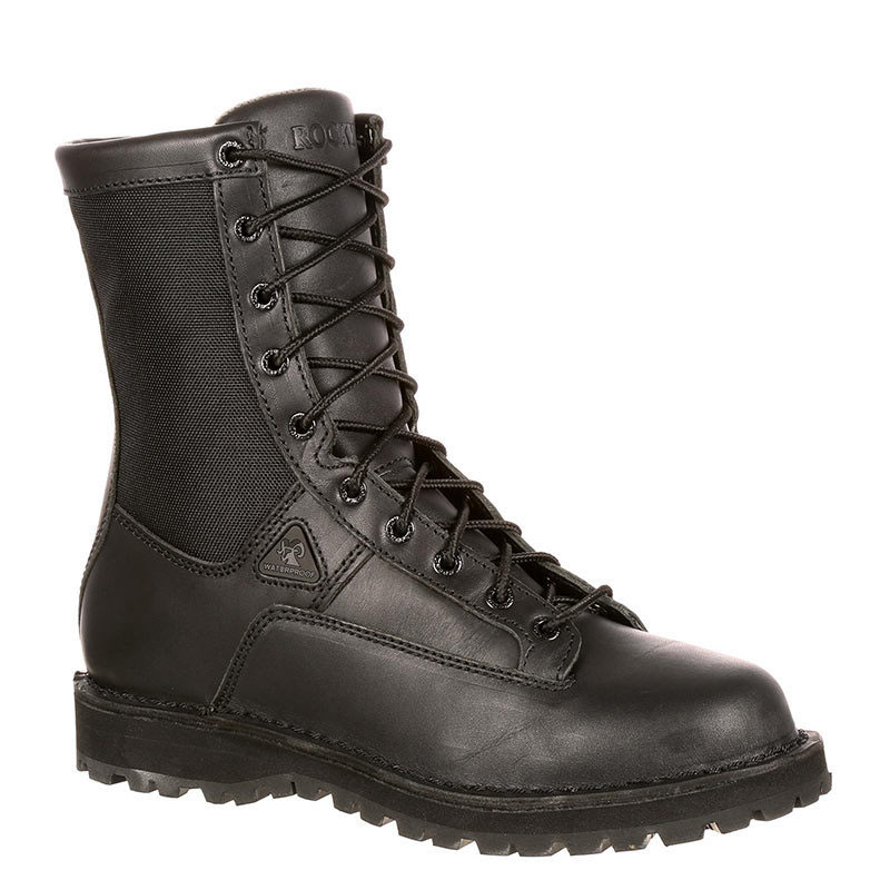 Rocky 2080 Portland Polishable Soft Toe Non-Insulated Tactical Police Duty  Boots 9d52df66dc71